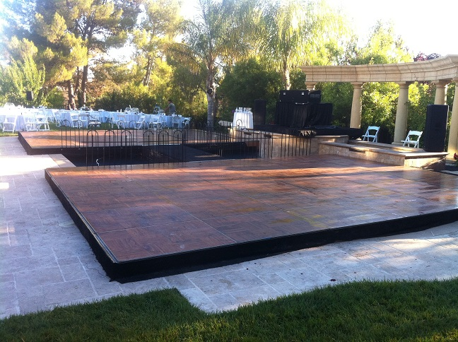 Dance Floor Pool Cover Rental Experts! Turn Your Swimming