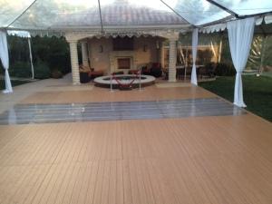 Wood Flooring Pool Cover