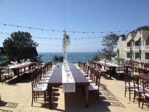 L Auberge Del Mar san diego chiavari chairs