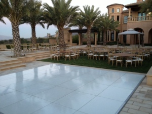 white dance floor rental los angeles san diego