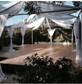 Dance floor pool covers rentals los angeles