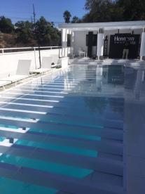 Plexi Glass/Dance Floor Pool Cover Rental Los Angeles 818 ...