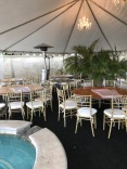 Hard pool cover temporary for birthday party burbank Ca